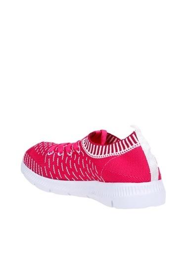 Limon Company 18Jana Bağcıklı Desenli Kız Çocuk Spor Ayakkabı Fuşya